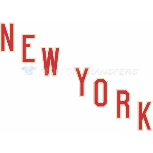 New York Rangers Iron-on Stickers (Heat Transfers)NO.238