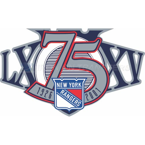 New York Rangers Iron-on Stickers (Heat Transfers)NO.245