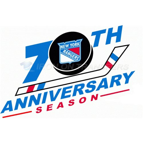 New York Rangers Iron-on Stickers (Heat Transfers)NO.248