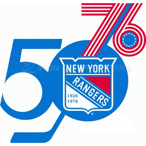 New York Rangers Iron-on Stickers (Heat Transfers)NO.249
