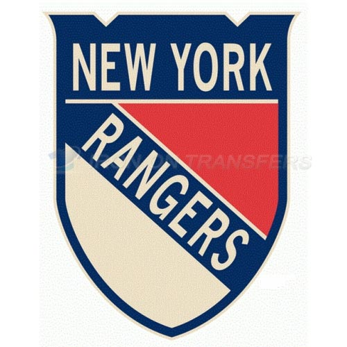 New York Rangers Iron-on Stickers (Heat Transfers)NO.250