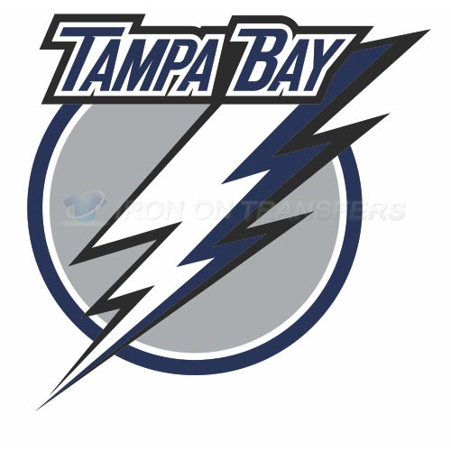 Tampa Bay Lightning Iron-on Stickers (Heat Transfers)NO.335