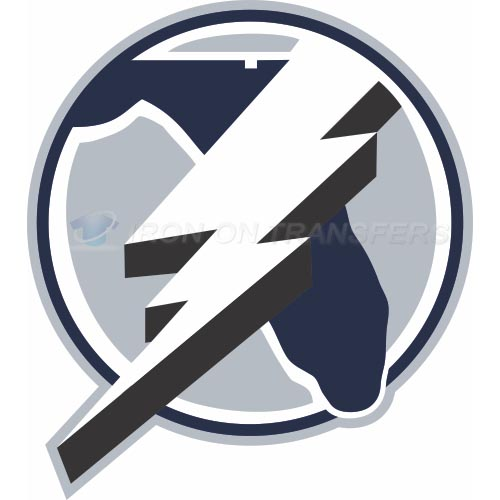 Tampa Bay Lightning Iron-on Stickers (Heat Transfers)NO.340