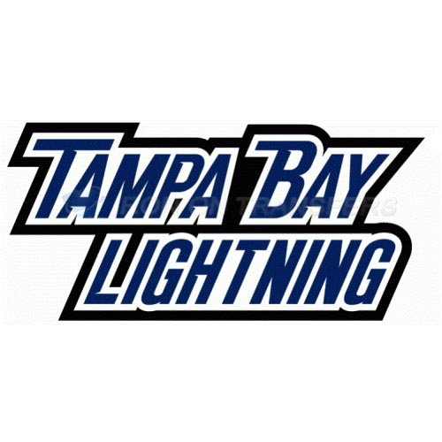 Tampa Bay Lightning Iron-on Stickers (Heat Transfers)NO.342