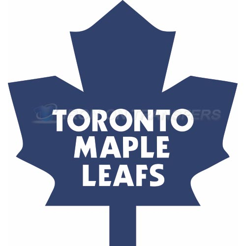 Toronto Maple Leafs Iron-on Stickers (Heat Transfers)NO.346