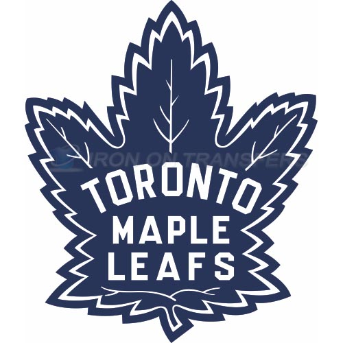 Toronto Maple Leafs Iron-on Stickers (Heat Transfers)NO.347