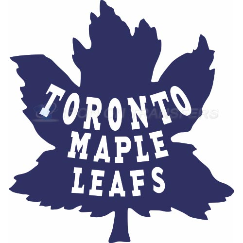 Toronto Maple Leafs Iron-on Stickers (Heat Transfers)NO.348