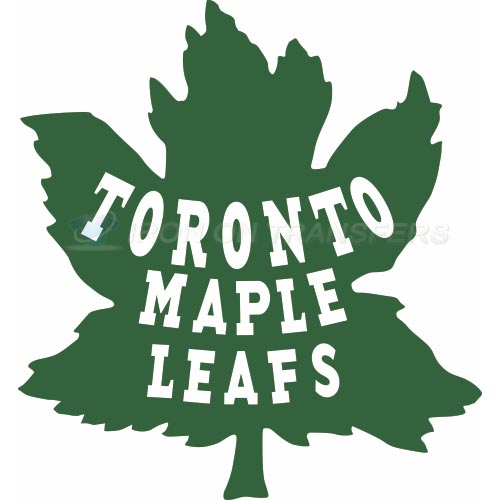 Toronto Maple Leafs Iron-on Stickers (Heat Transfers)NO.349