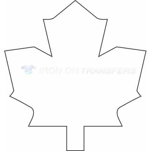 Toronto Maple Leafs Iron-on Stickers (Heat Transfers)NO.352