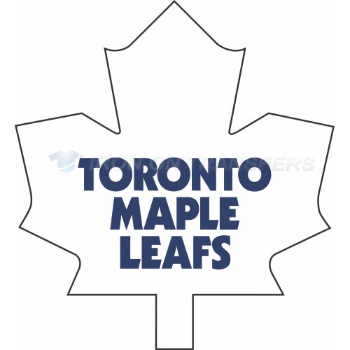 Toronto Maple Leafs Iron-on Stickers (Heat Transfers)NO.354