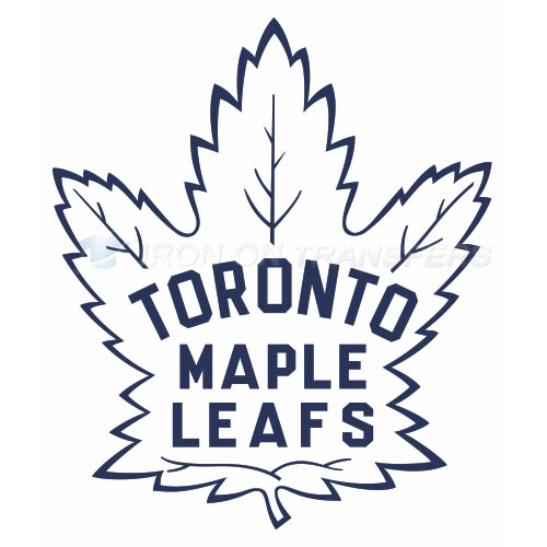 Toronto Maple Leafs Iron-on Stickers (Heat Transfers)NO.355