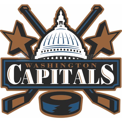 Washington Capitals Iron-on Stickers (Heat Transfers)NO.368