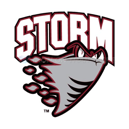 Guelph Storm Iron-on Stickers (Heat Transfers)NO.7323