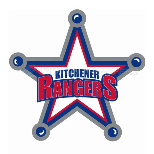 Kitchener Rangers Iron-on Stickers (Heat Transfers)NO.7332