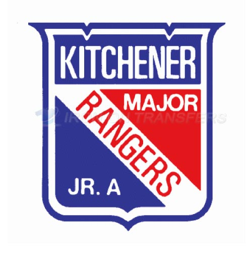 Kitchener Rangers Iron-on Stickers (Heat Transfers)NO.7334