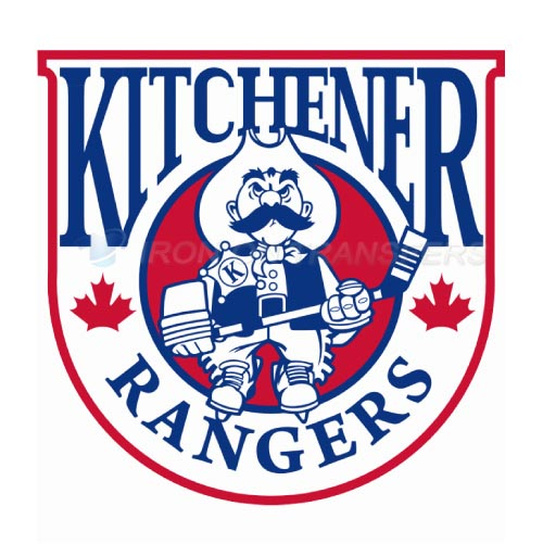 Kitchener Rangers Iron-on Stickers (Heat Transfers)NO.7335