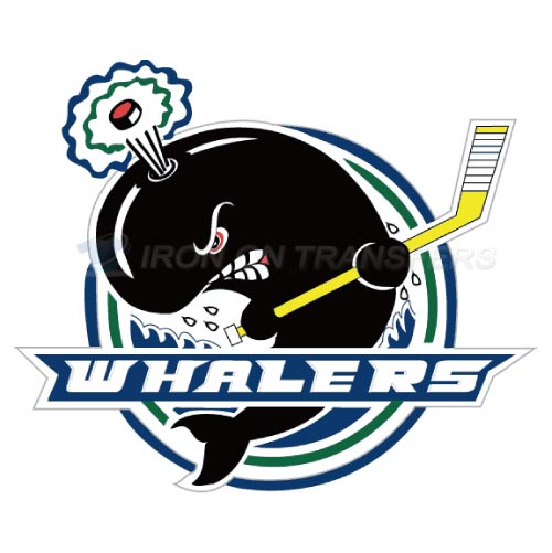 Plymouth Whalers Iron-on Stickers (Heat Transfers)NO.7380