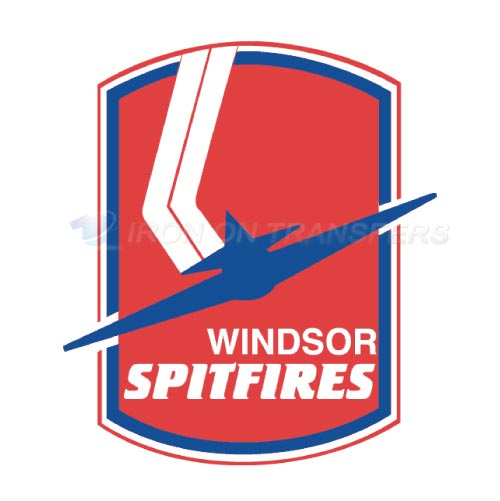 Windsor Spitfires Iron-on Stickers (Heat Transfers)NO.7403