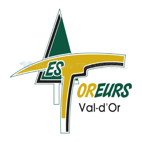 Val-d Or Foreurs Iron-on Stickers (Heat Transfers)NO.7476