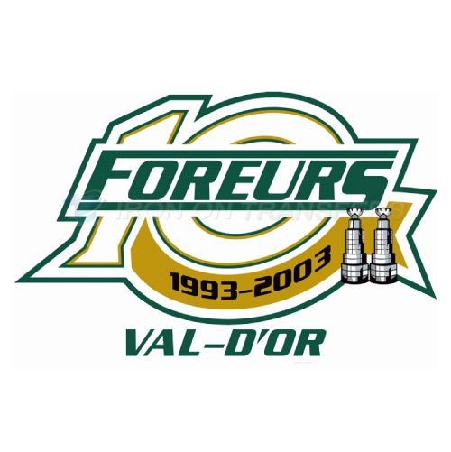 Val-d Or Foreurs Iron-on Stickers (Heat Transfers)NO.7482