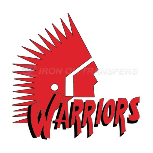 Moose Jaw Warriors Iron-on Stickers (Heat Transfers)NO.7524