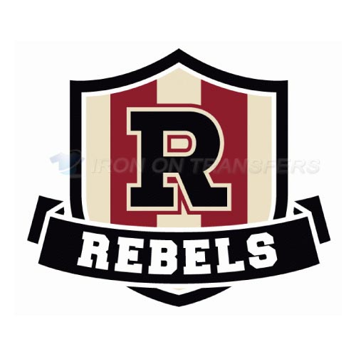 Red Deer Rebels Iron-on Stickers (Heat Transfers)NO.7536
