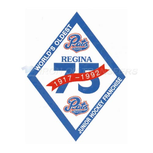 Regina Pats Iron-on Stickers (Heat Transfers)NO.7540