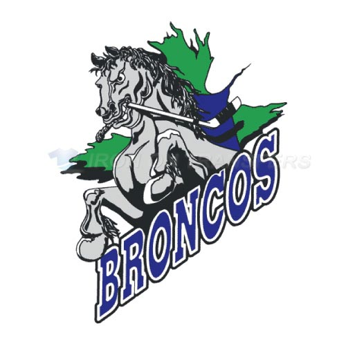 Swift Current Broncos Iron-on Stickers (Heat Transfers)NO.7557