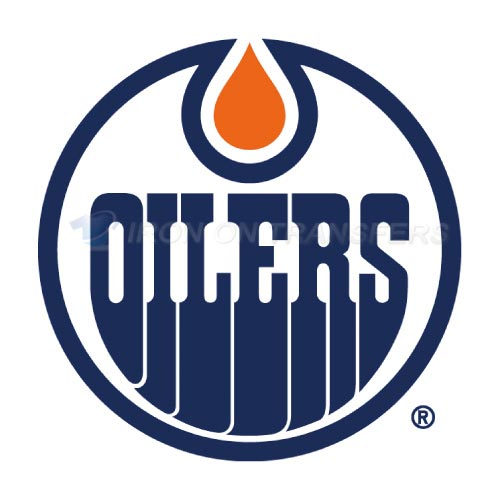 Alberta Oilers Iron-on Stickers (Heat Transfers)NO.7098