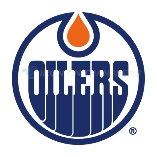 Alberta Oilers Iron-on Stickers (Heat Transfers)NO.7100