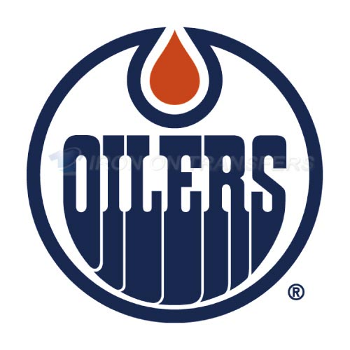Alberta Oilers Iron-on Stickers (Heat Transfers)NO.7101