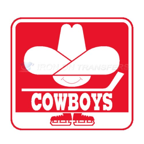 Calgary Cowboys Iron-on Stickers (Heat Transfers)NO.7106