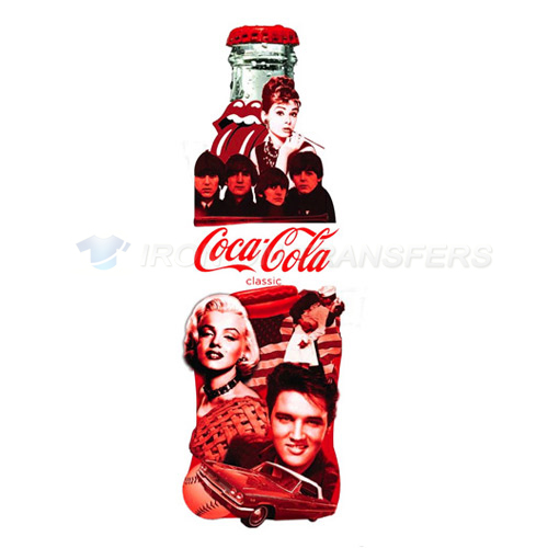 Coca Cola Iron-on Stickers (Heat Transfers)NO.5545