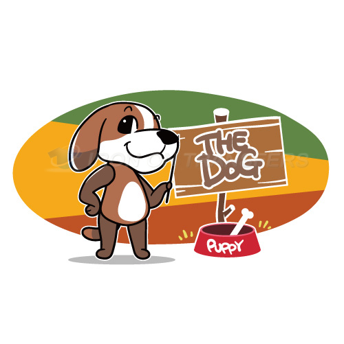 Dogs Iron-on Stickers (Heat Transfers)NO.8719