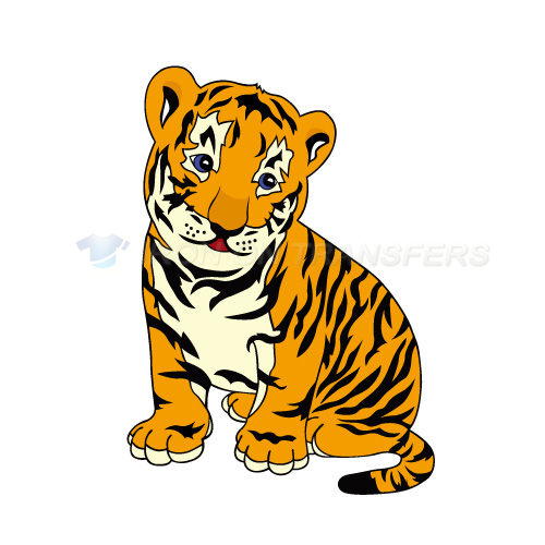 Tiger Iron-on Stickers (Heat Transfers)NO.8877