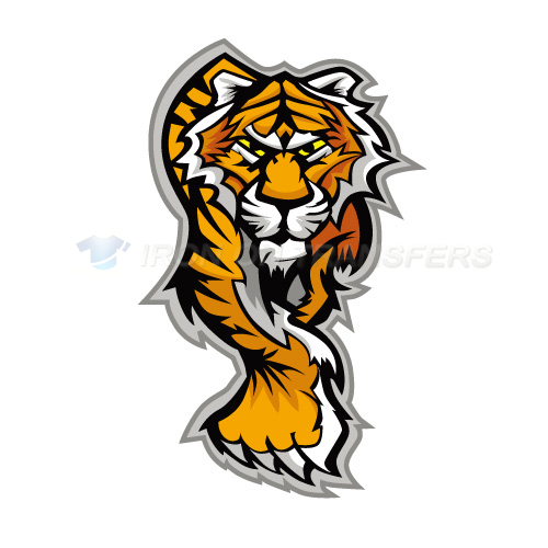 Tiger Iron-on Stickers (Heat Transfers)NO.8878