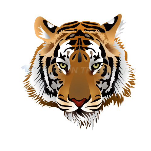 Tiger Iron-on Stickers (Heat Transfers)NO.8891