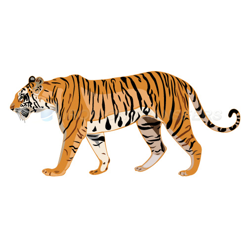 Tiger Iron-on Stickers (Heat Transfers)NO.8893