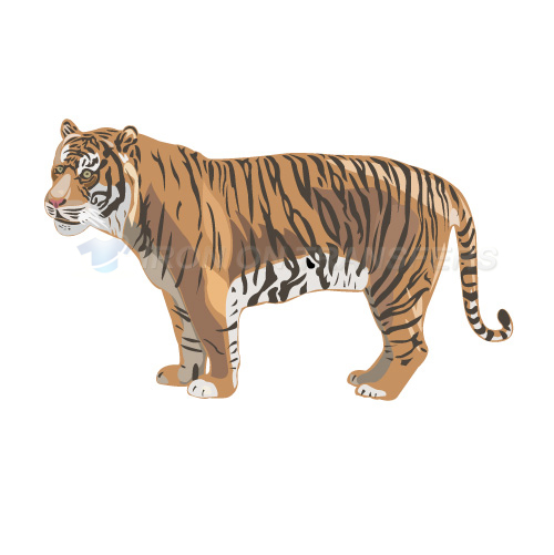Tiger Iron-on Stickers (Heat Transfers)NO.8894