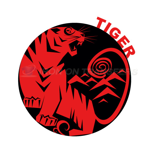 Tiger Iron-on Stickers (Heat Transfers)NO.8895
