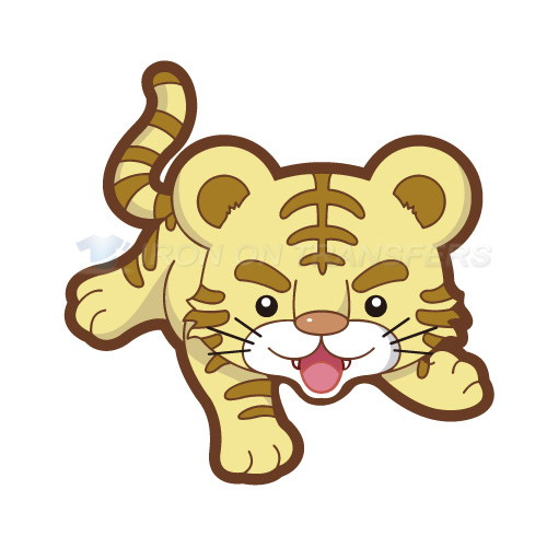 Tiger Iron-on Stickers (Heat Transfers)NO.8902