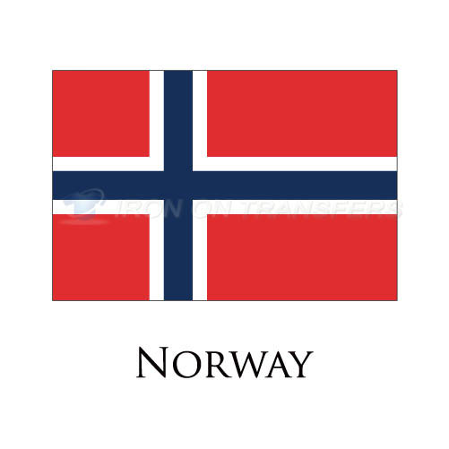 Norway flag Iron-on Stickers (Heat Transfers)NO.1949