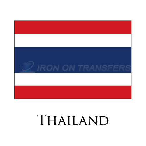 Thailand flag Iron-on Stickers (Heat Transfers)NO.1997