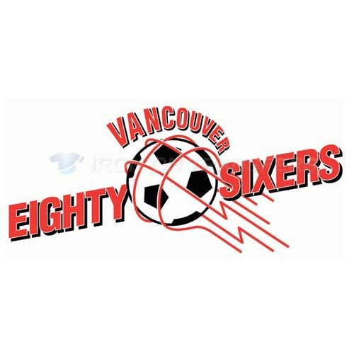 Vancouver 86ers Iron-on Stickers (Heat Transfers)NO.8519