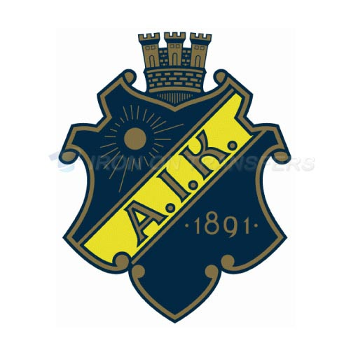 AIK Stockholm Iron-on Stickers (Heat Transfers)NO.8229