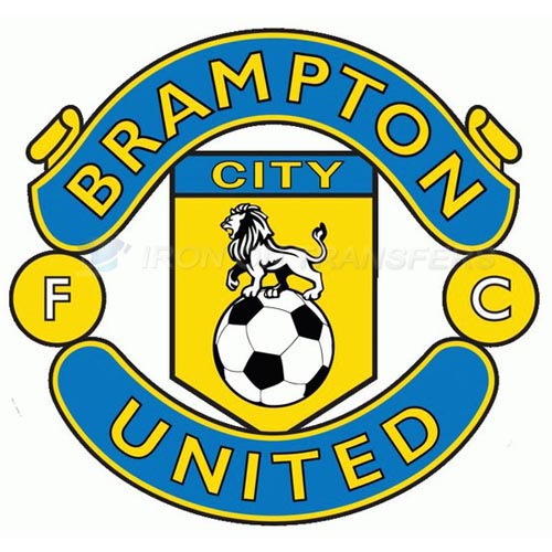 Brampton City United FC Iron-on Stickers (Heat Transfers)NO.8265