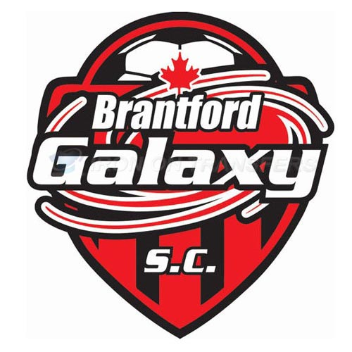 Brantford Galaxy S.C Iron-on Stickers (Heat Transfers)NO.8266