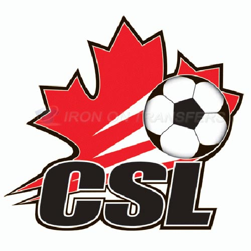 Canadian Soccer League Iron-on Stickers (Heat Transfers)NO.8274