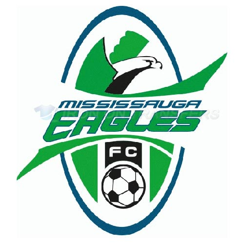Mississauga Eagles FC Iron-on Stickers (Heat Transfers)NO.8394