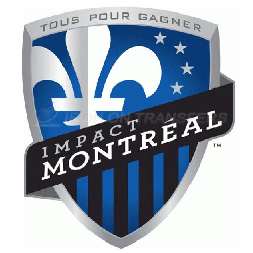 Montreal Impact Academy Iron-on Stickers (Heat Transfers)NO.8398